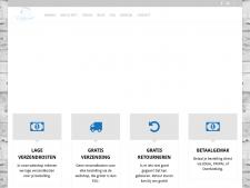 Screenshot van de website van Relaxxed Warmtezakken