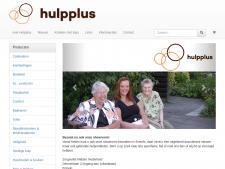 Screenshot van de website van Hulpplus