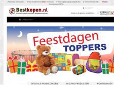 Screenshot van de website van Best Kopen