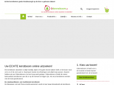 Screenshot van de website van O Denneboom