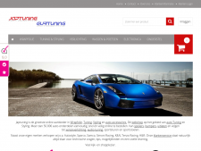Screenshot van de website van Jap Tuning