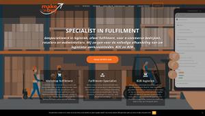 Screenshot van de website van Make or Buy