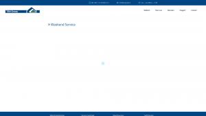 Screenshot van de website van TSN Groep